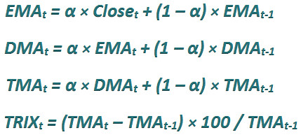 индикатор TRIX расчет1