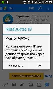 MetaQuotes ID