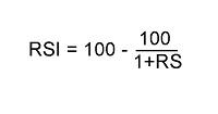 RSI formula