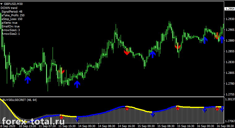 Индикатор Buysell5secret